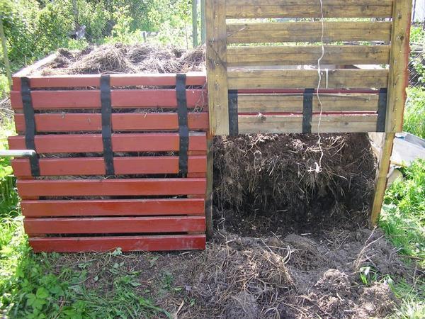 Строим ящик для компоста