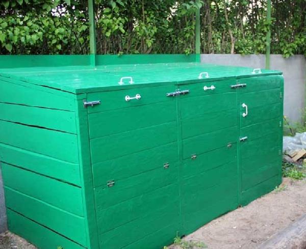 готовый ящик для компоста