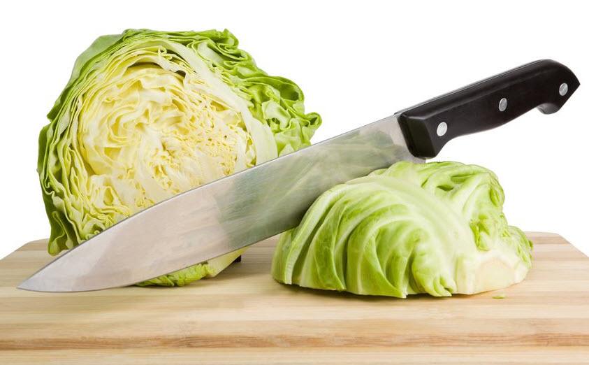Капуста в салатнике