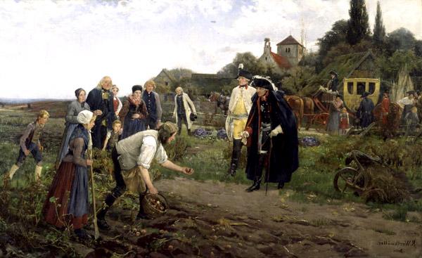 Как картофель попал в Россию